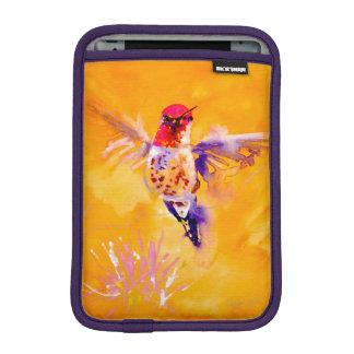 """""""Well Hello!"""" Hummingbird Print iPad Mini Sleeve"""