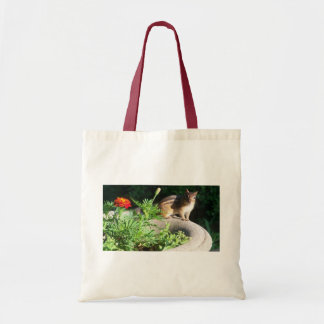 Well, Hello there, Chipmunk! Canvas Bag