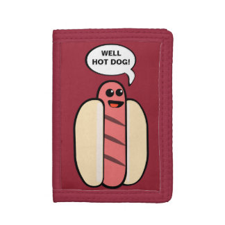 Well Hot Dog Tri-fold Wallet