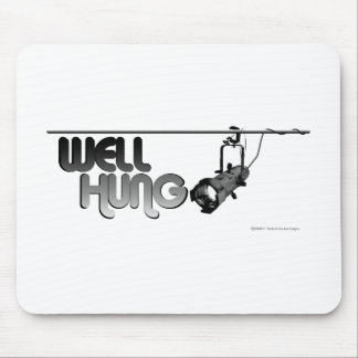 Well Hung Ellipsoidal Mouse Mats