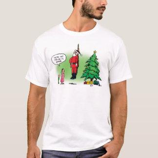 Well Hung Santa Scares the Kids Shirt