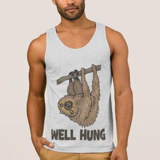 Well Hung Sloth Tank Top