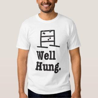 well hung t shirt
