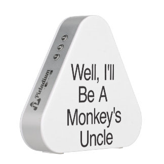 Well, I'll Be A Monkey's Uncle.ai Bluetooth Speaker