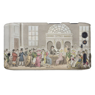 Well known Characters in the Pump Room Bath Taki Droid RAZR Cover