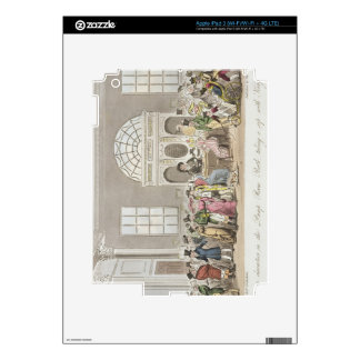 Well known Characters in the Pump Room, Bath, Taki Decal For iPad 3