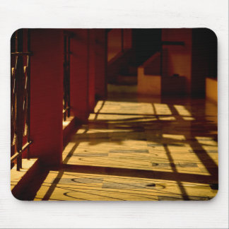 Well Lit Corridor Photo Mouse Pad