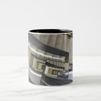 Well of Stairs Two-Tone Coffee Mug