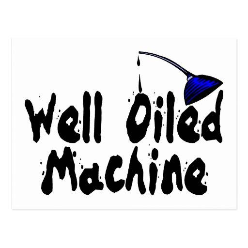 Well Oiled Machine Postcard