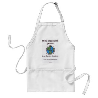 Well Organized Person Adult Apron