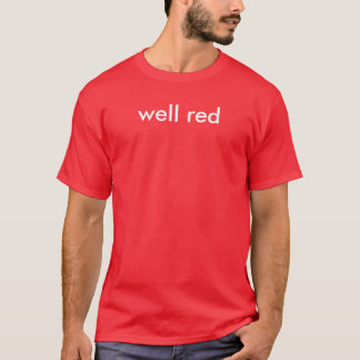 well red T-Shirt