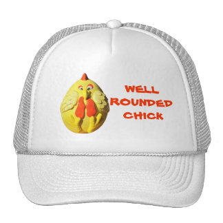 Well Rounded Chick Trucker Hat