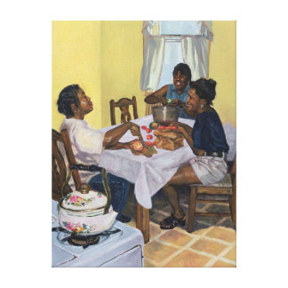 Well Seasoned Banter 1998 Canvas Print