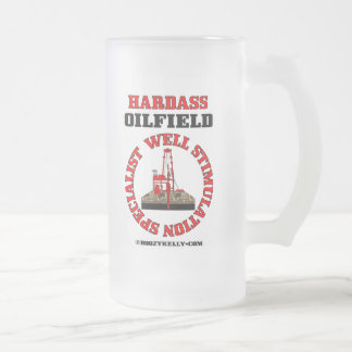 Well Stimulation Specialist,Beer Mug,Oil,Oil Rigs