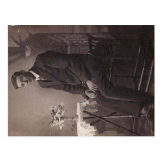 Well Suited Vintage Black & White - Postcard