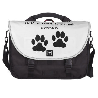 Well Trained Dachshund Owner Commuter Bag