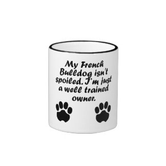 Well Trained French Bulldog Owner Mugs