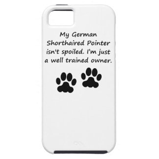 Well Trained German Shorthaired Pointer Owner iPhone SE/5/5s Case
