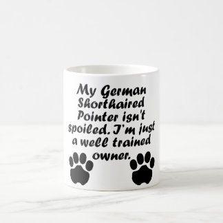 Well Trained German Shorthaired Pointer Owner Magic Mug
