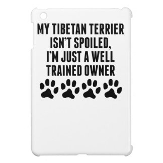 Well Trained Tibetan Terrier Owner iPad Mini Covers
