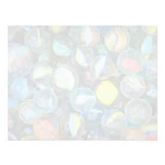 Well-used marbles letterhead