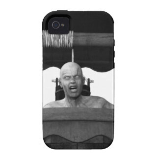 Well with a Zombie B&W iPhone 4 Case