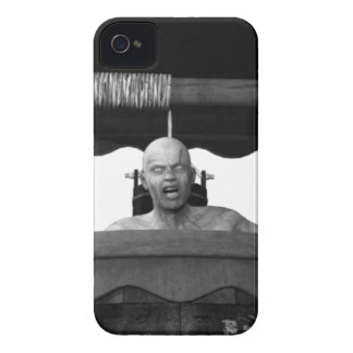 Well with a Zombie B&W iPhone 4 Cases