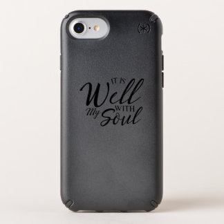 Well With My Soul  Jesus Christian Faith Speck iPhone Case
