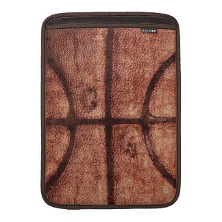 well worn basketball ball case MacBook sleeve