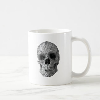 Wellcoda 3D Skull Horror Face Aztec Head Coffee Mug