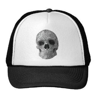 Wellcoda 3D Skull Horror Face Aztec Head Trucker Hat