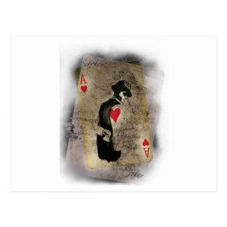 Wellcoda Ace Heart Hustler USA Casino Fun Postcard