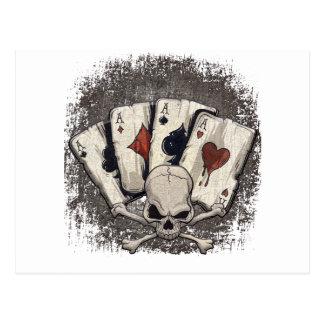 Wellcoda Ace Playing Cards Skull Casino