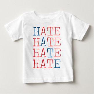 Wellcoda Always Hate Your Enemy Crazy Fun Baby T-Shirt