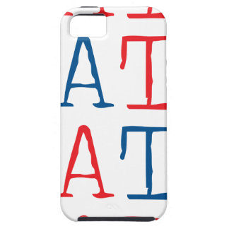 Wellcoda Always Hate Your Enemy Crazy Fun iPhone 5 Covers