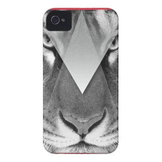 Wellcoda Amazing Tiger Cat Face Wild Life iPhone 4 Case-Mate Case