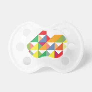 Wellcoda Amazing Triangle Print Hypnotic Pacifier