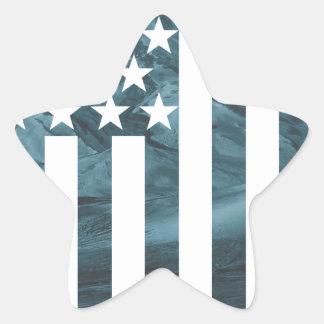 Wellcoda American Free Eagle USA Dream Star Sticker