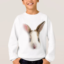 Wellcoda Animal Bunny Rabbit Cute Pet Sweatshirt