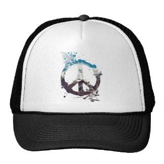 Wellcoda Animal Peace and Love Bird Life Trucker Hat