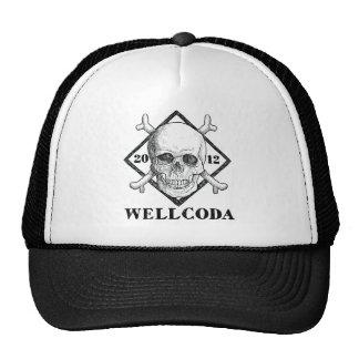 Wellcoda Apparel Dead Skeleton Pirate Sea Trucker Hat