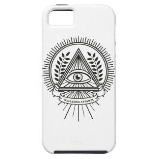 Wellcoda Apparel Illuminati Secret Life iPhone SE/5/5s Case