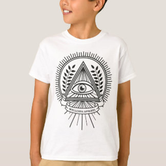 Wellcoda Apparel Illuminati Secret Life T-Shirt