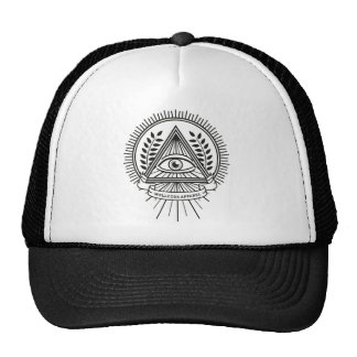 Wellcoda Apparel Illuminati Secret Life Trucker Hat