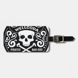Wellcoda Apparel Pirate Bar Costume Hat Luggage Tag