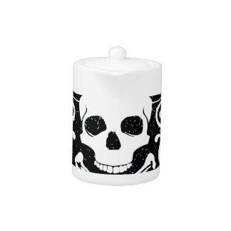 Wellcoda Apparel Pirates Bar Skull Bones