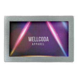 Wellcoda Apparel Solar System Star Colour Belt Buckle