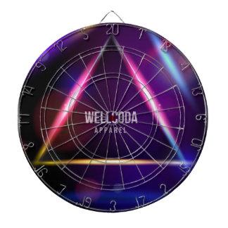 Wellcoda Apparel Solar System Star Colour Dart Board