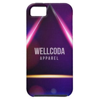 Wellcoda Apparel Solar System Star Colour iPhone SE/5/5s Case