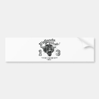 Wellcoda Apparel Wild Cats USA Sport Team Bumper Sticker